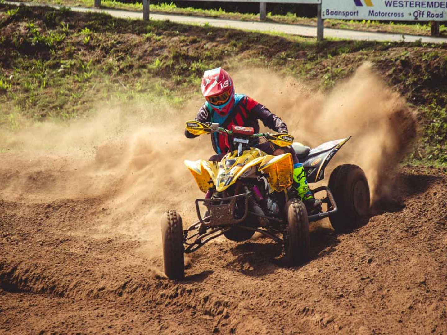 Participate in dirt bike racing events in Groveton, NH